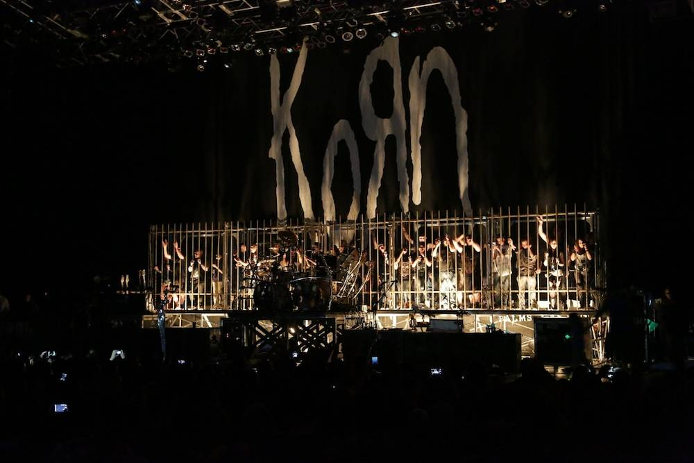 Korn plays the Pearl at the Palms. Photos: Edison Graff