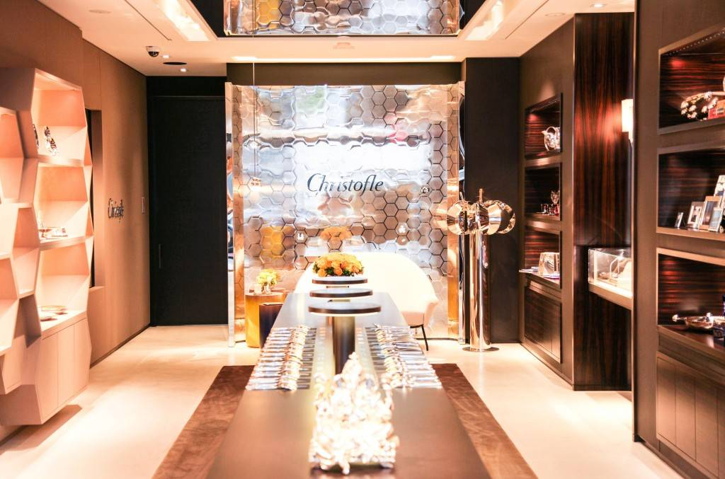 CHRISTOFLE Celebrates Grand Opening of New West Coast Flagship Boutique