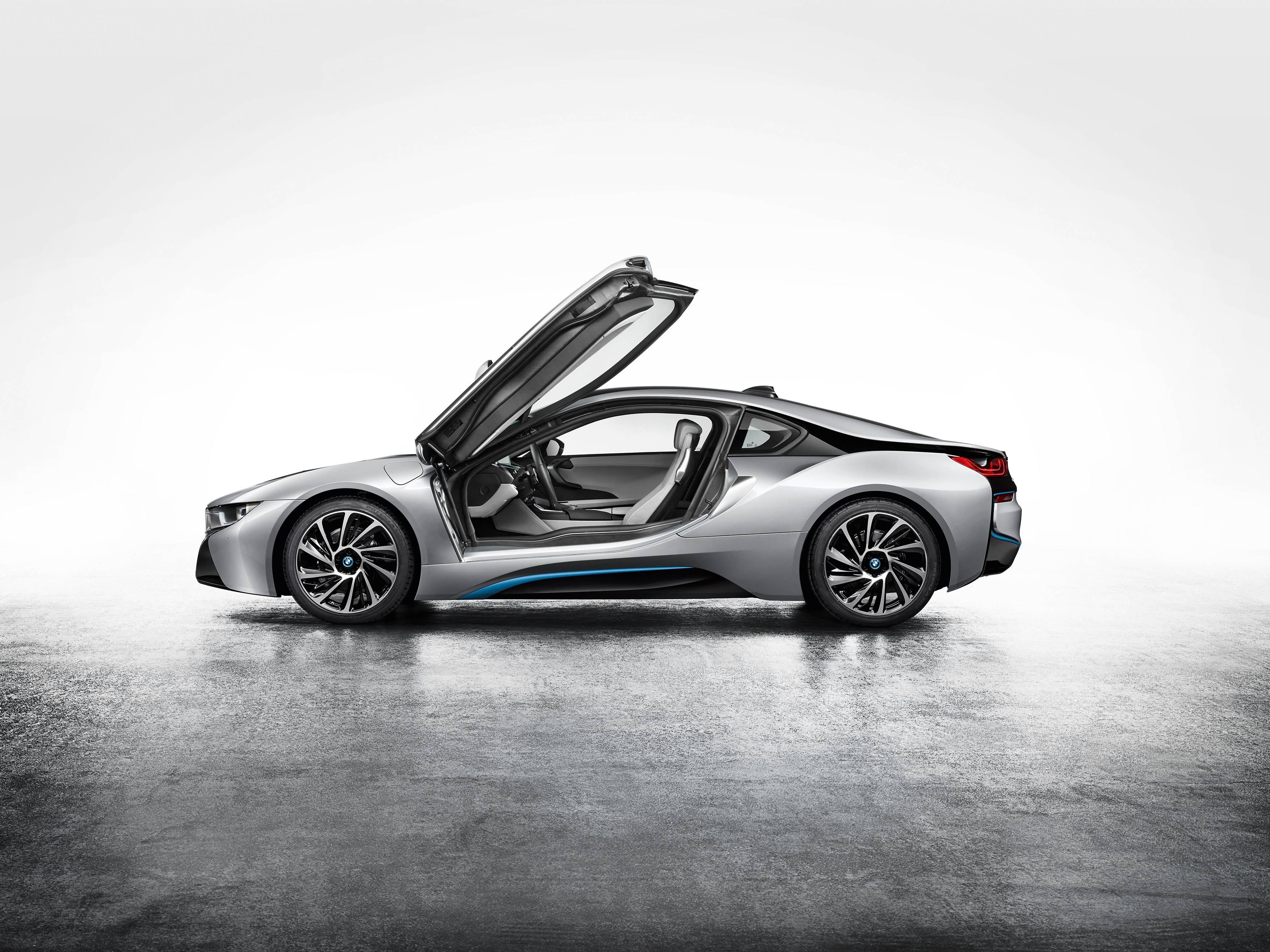 BMW i8 Profile Doors Up