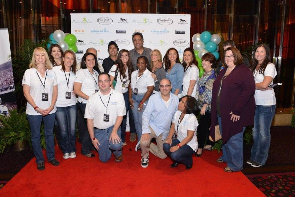 Brad Garrett's Maximum Hope Foundation Charity Poker Tournament - Celebrities and Nathan Adelson Hospice volunteers 10.19.13