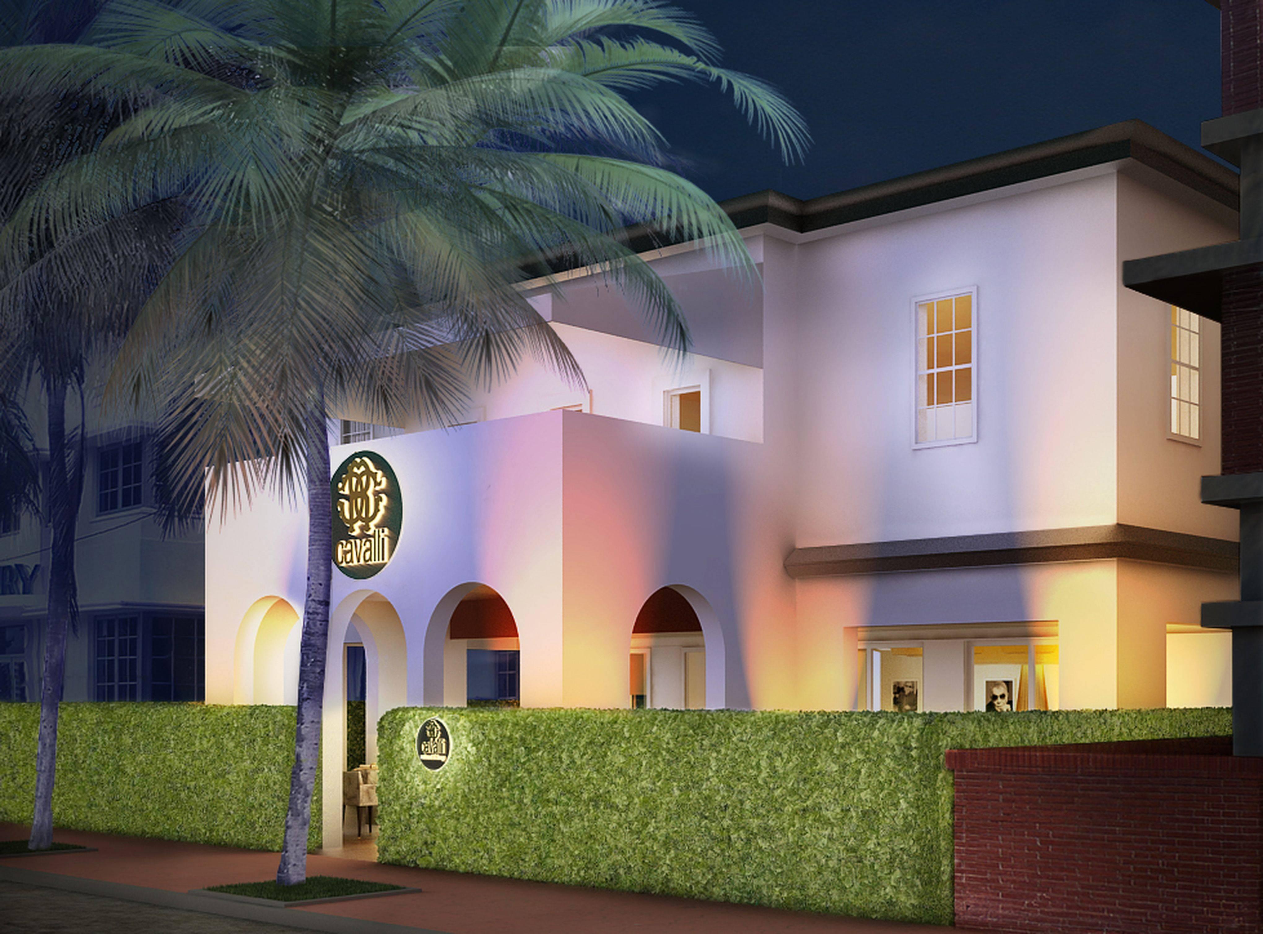 Cavalli Restaurant & Lounge Miami – External view