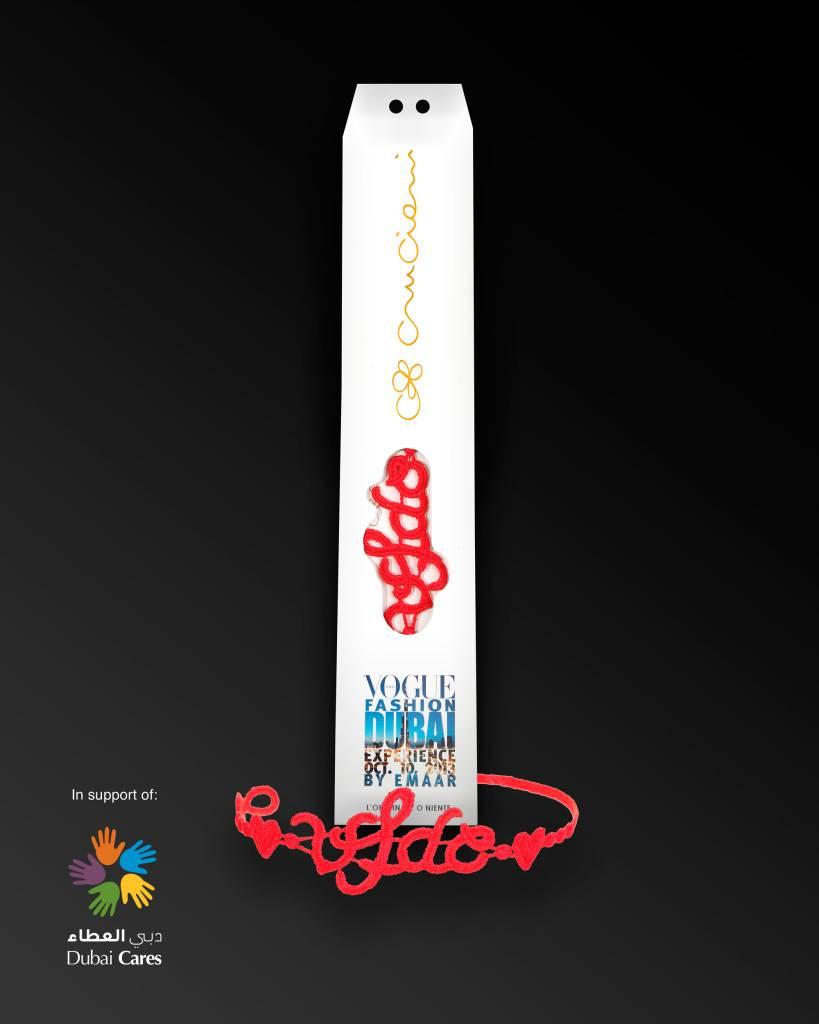 Cruciani C - Vogue Fashion Dubai Experience bracelet