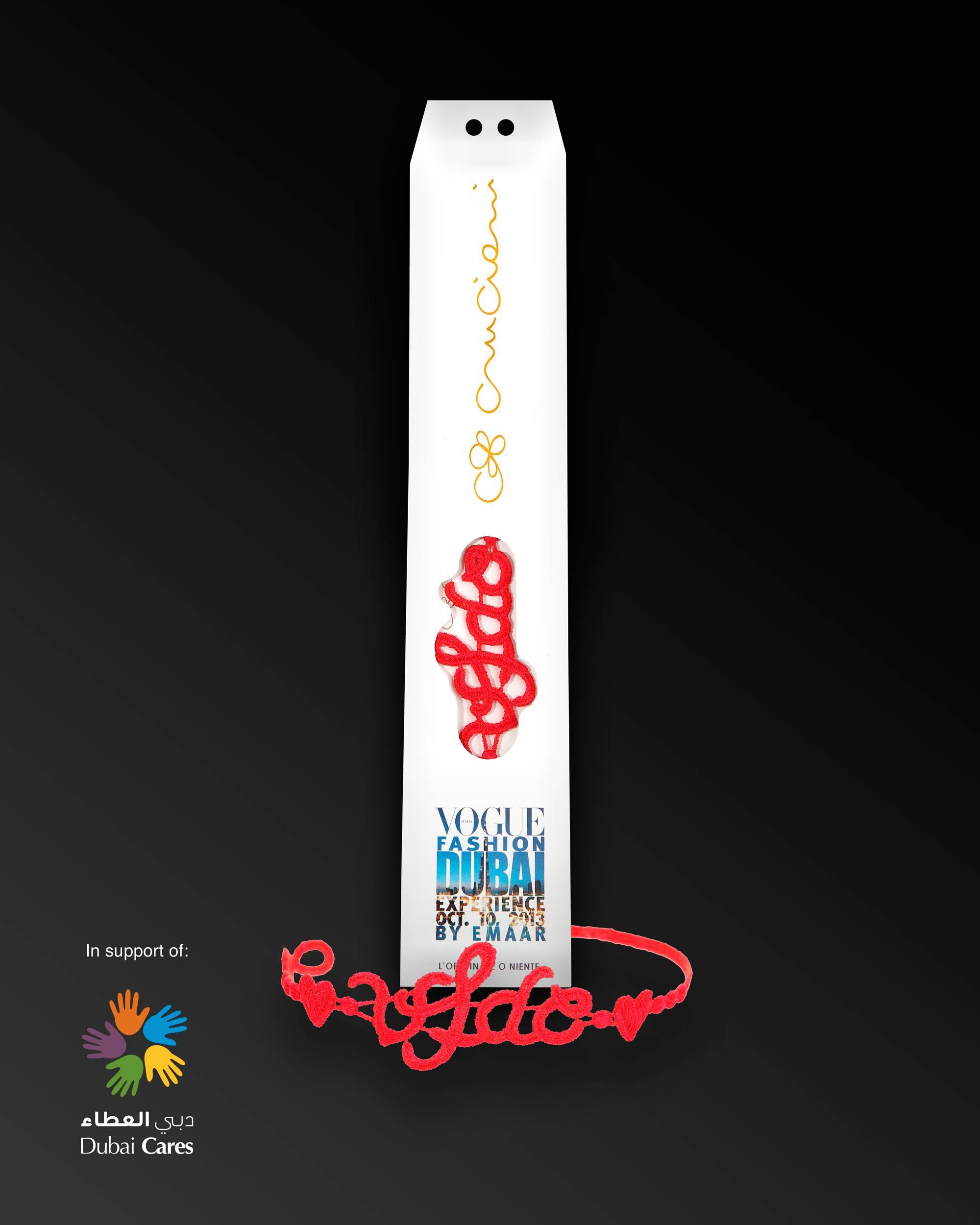 Cruciani C – Vogue Fashion Dubai Experience bracelet