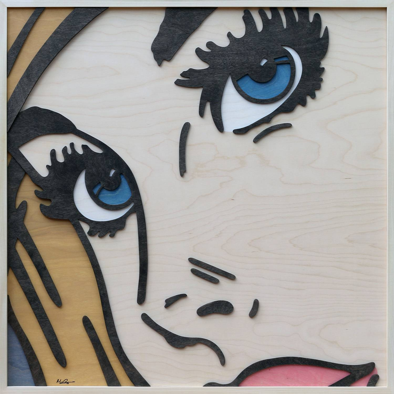 Elisa Contemporary Art_Mitch McGee_Blue Eyes