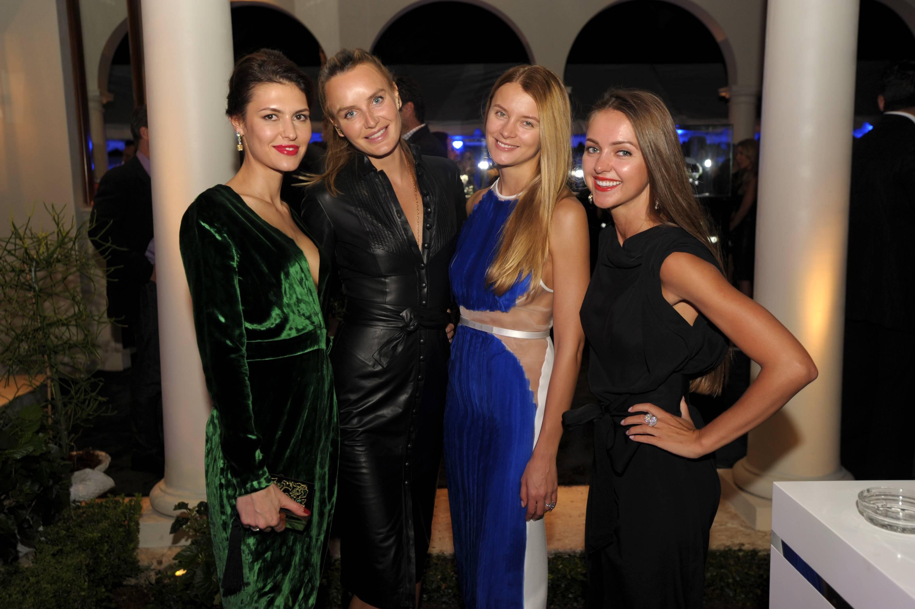 Finsky Vlada, Masha Hanson, Elena Baykova, & Irina Artemova