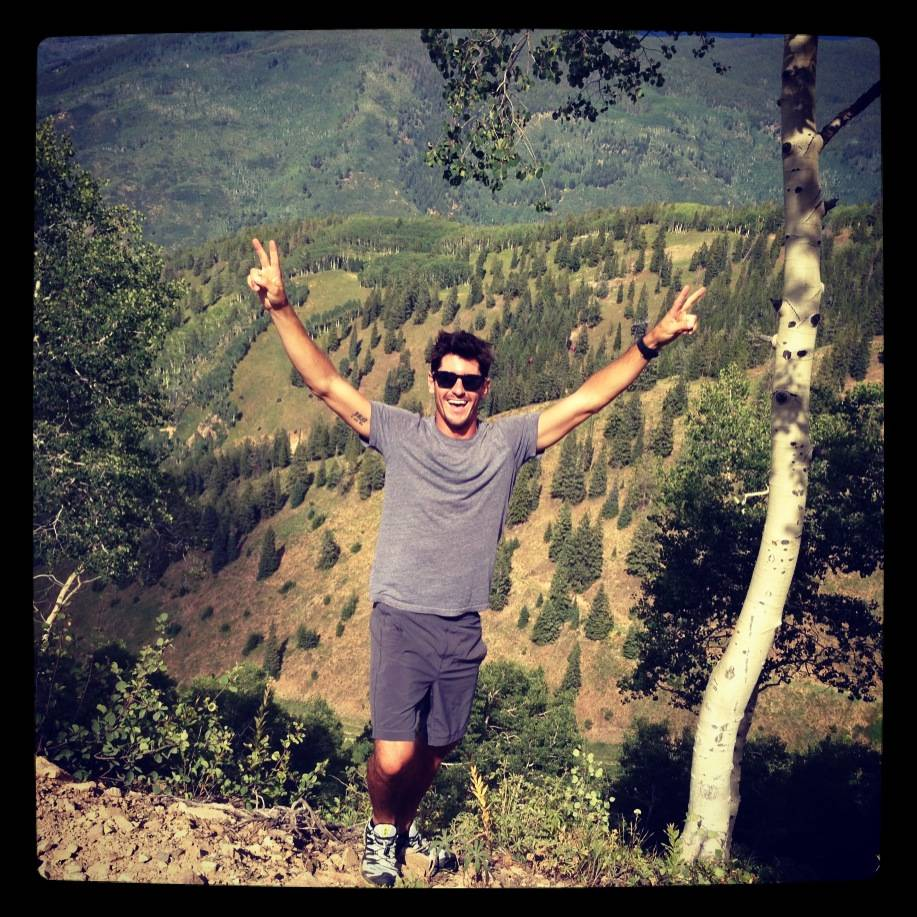 A favorite pasttime: Hiking up Aspen Mountain