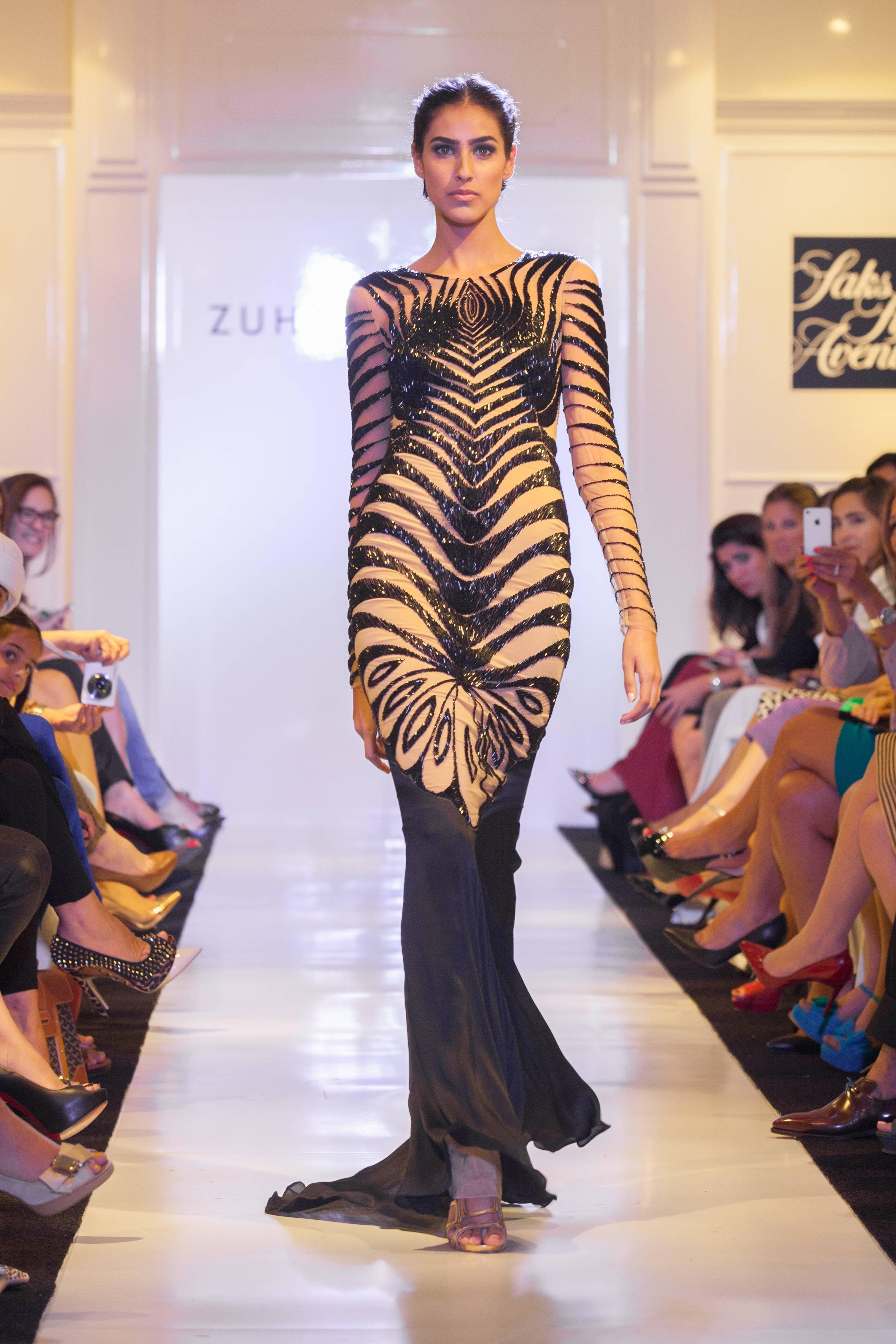 Zuhair Murad Presents Spring/Summer 14 Eveningwear at Saks Fifth ...