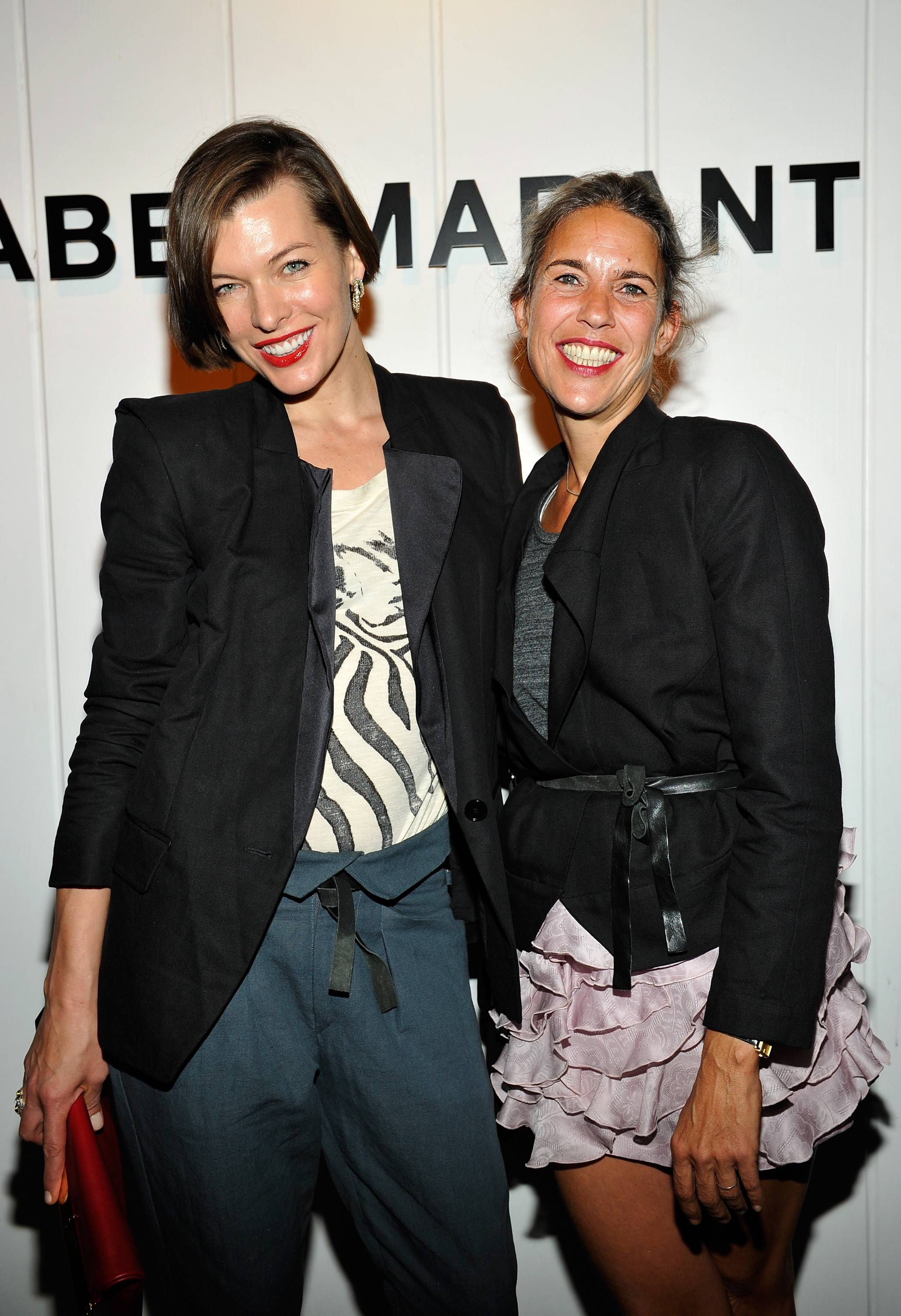Isabel Marant & Milla Jovovich BBQ Party To Celebrate The 1st Year Of The LA Shop