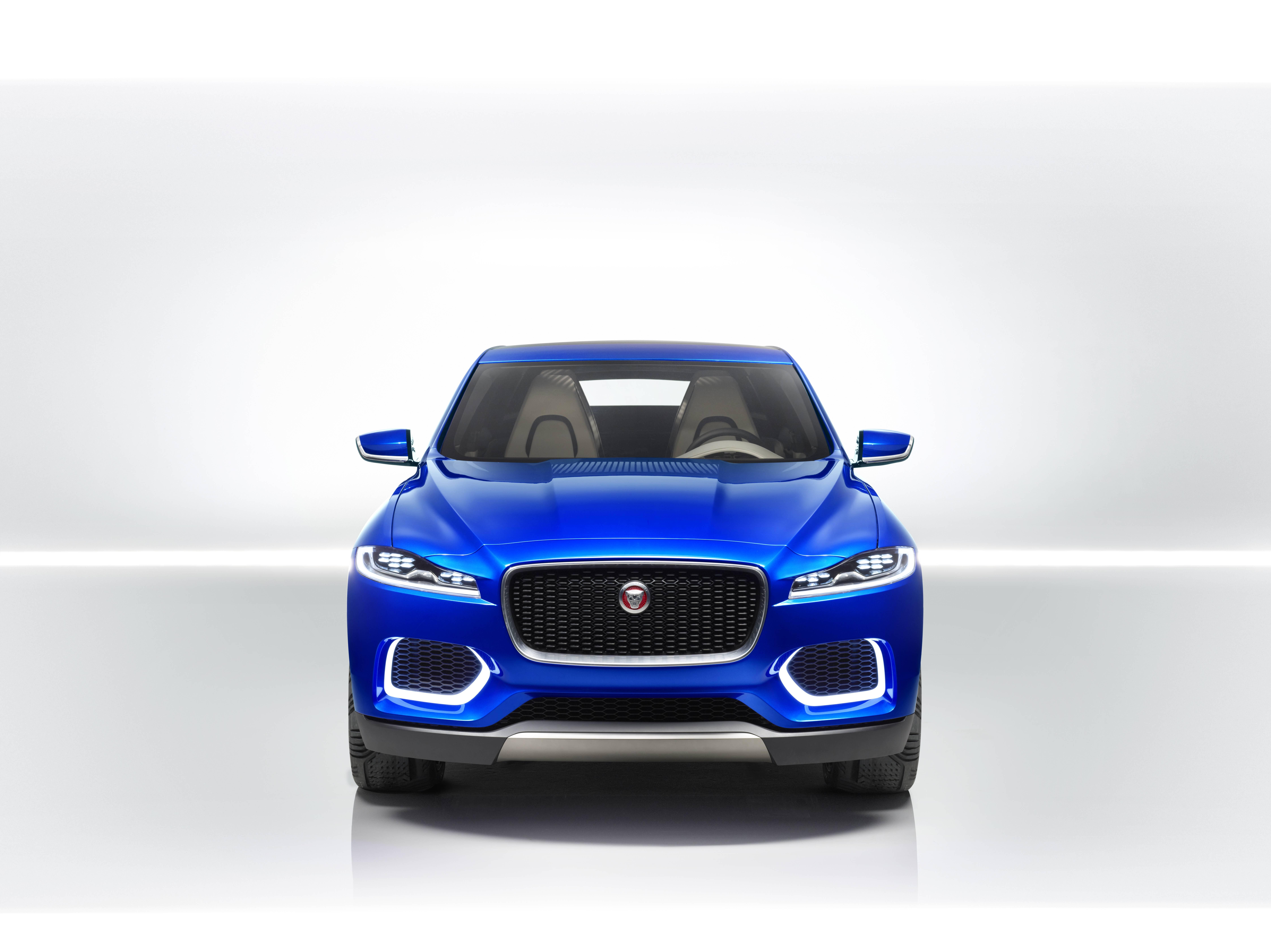 Jaguar C-X17 Front Angle