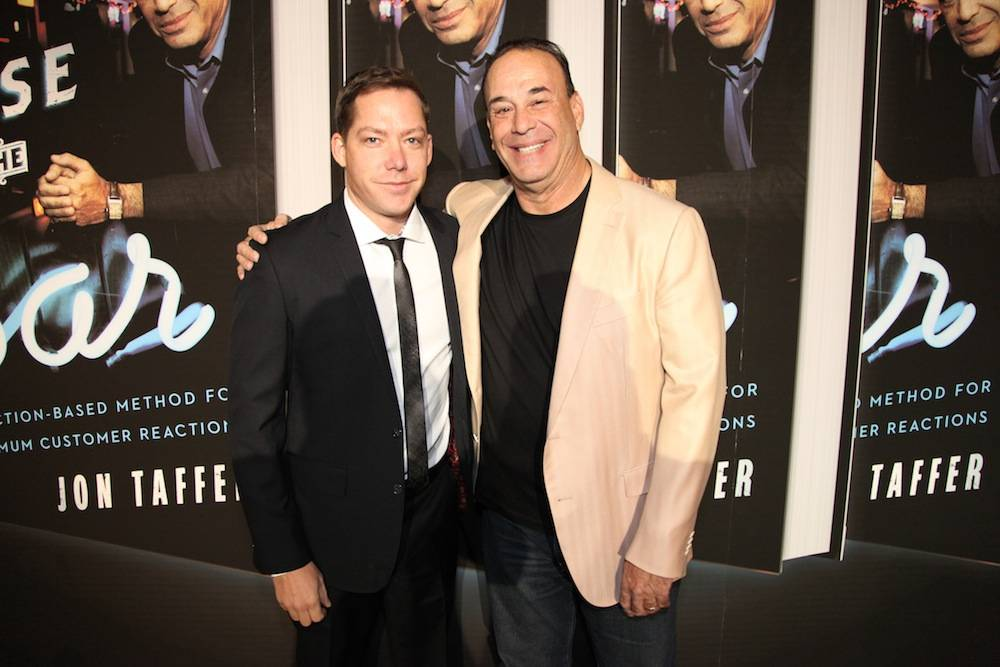Jesse Waits and Jon Taffer at Tryst Nightclub. Photos: Emilio Gonzales