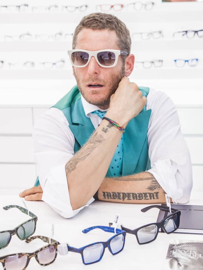 Lapo Elkann @ EyeZone - The Dubai Mall