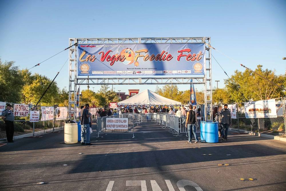 Las Vegas Foodie Fest Entrance
