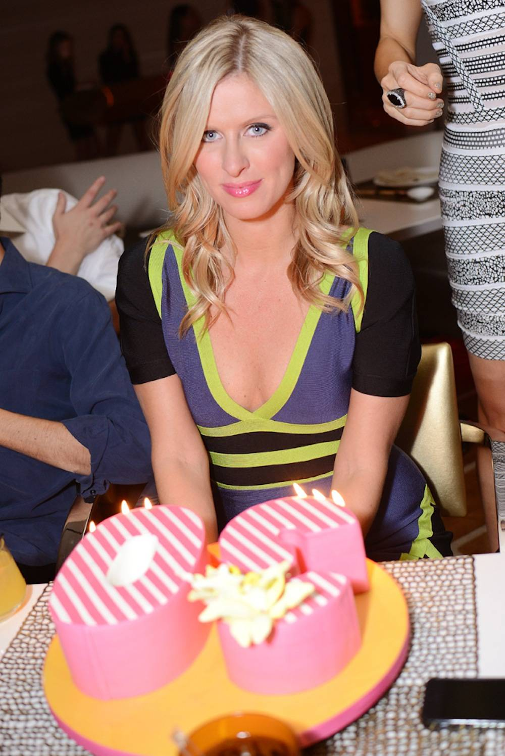Nicki Hilton celebrates her 30th birthday at Andrea's. Photos: Aaron Garcia