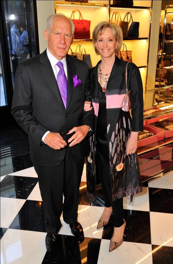 OJ & J Gary Shansby in Prada