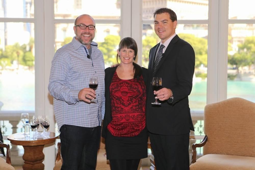 Panelists at Syrah Wine Tasting, 10.5.13
