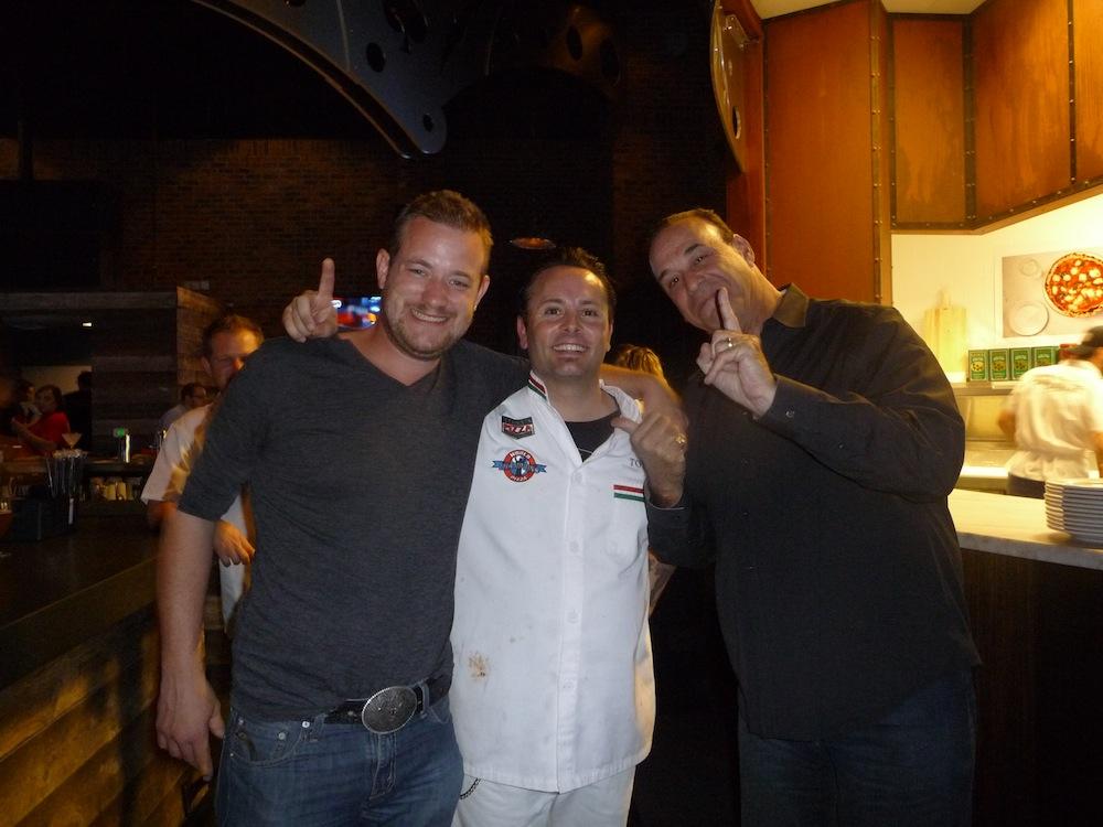 Pictured L to R – Russell Davis – Tony Gemignani – Jon Taffer credit Pizza Rock[2]
