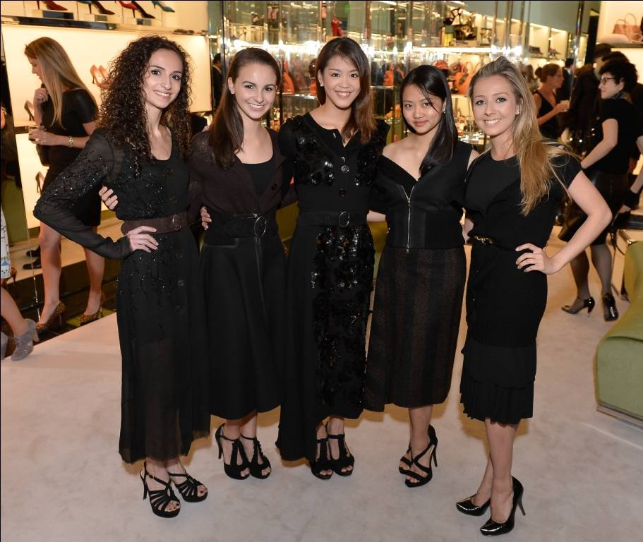 SF Ballet School Trainees in PRADA