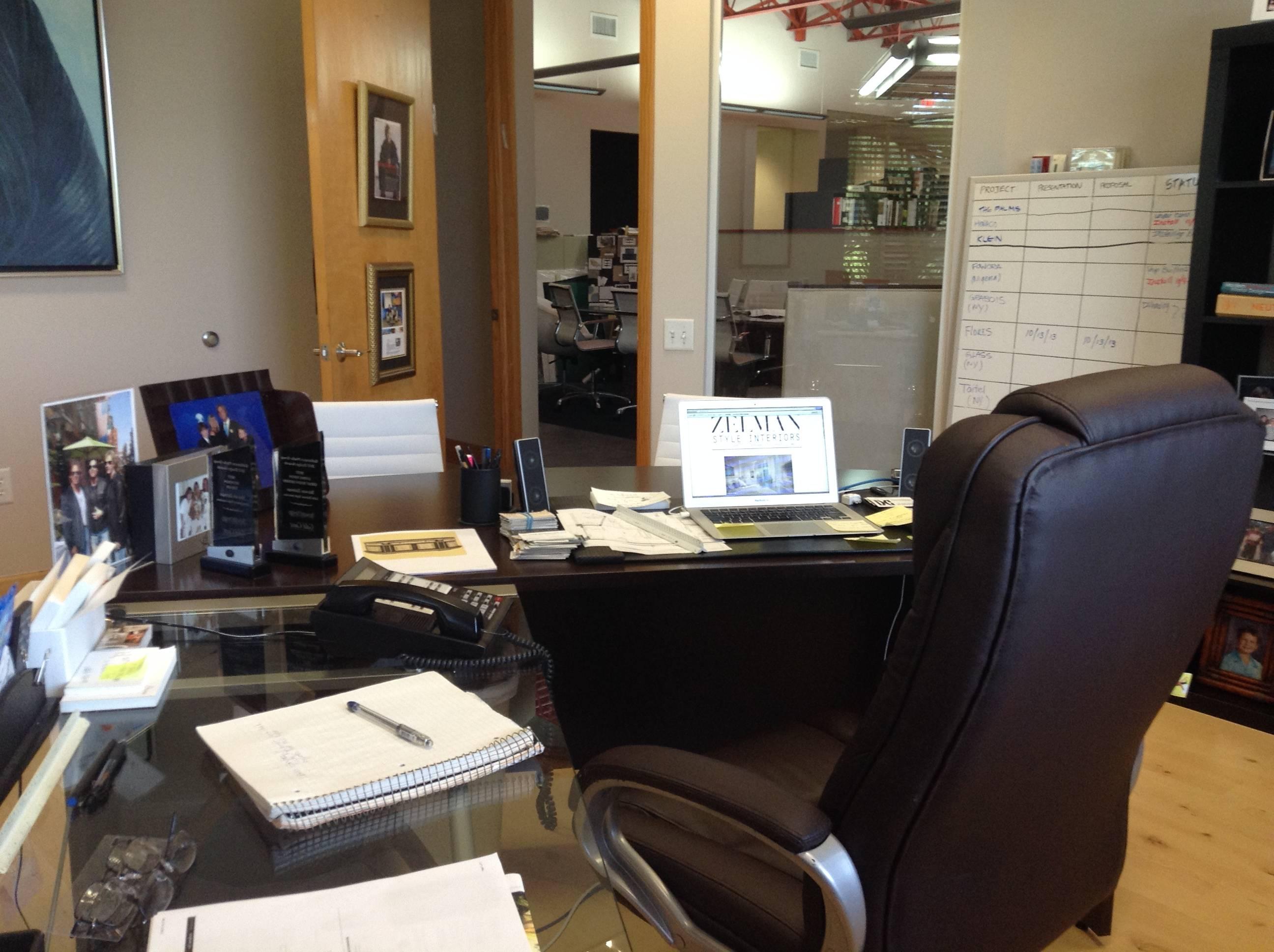 Steven Zelman Desk 1