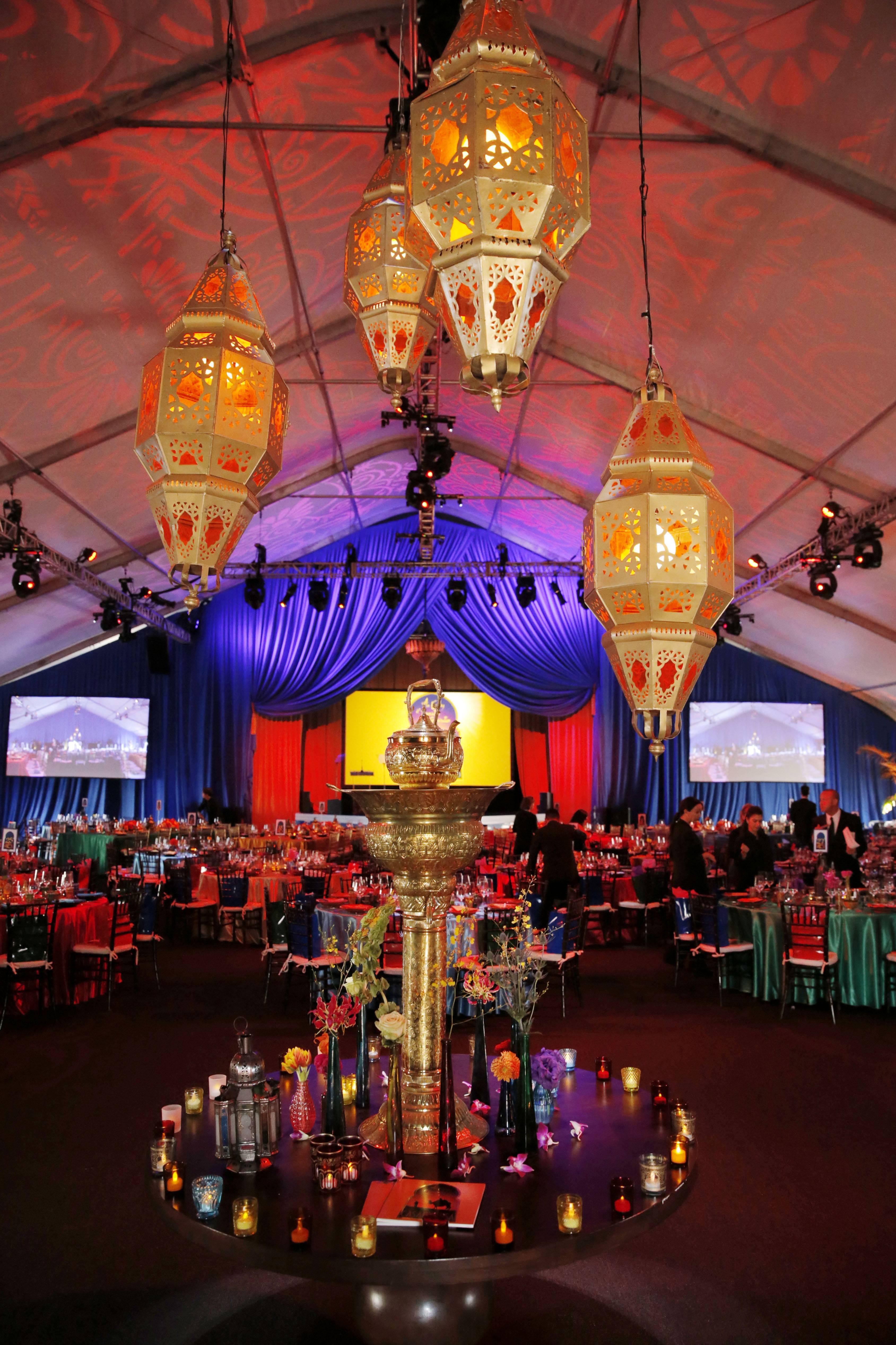 2013 Alfred Mann Foundation Gala - Inside