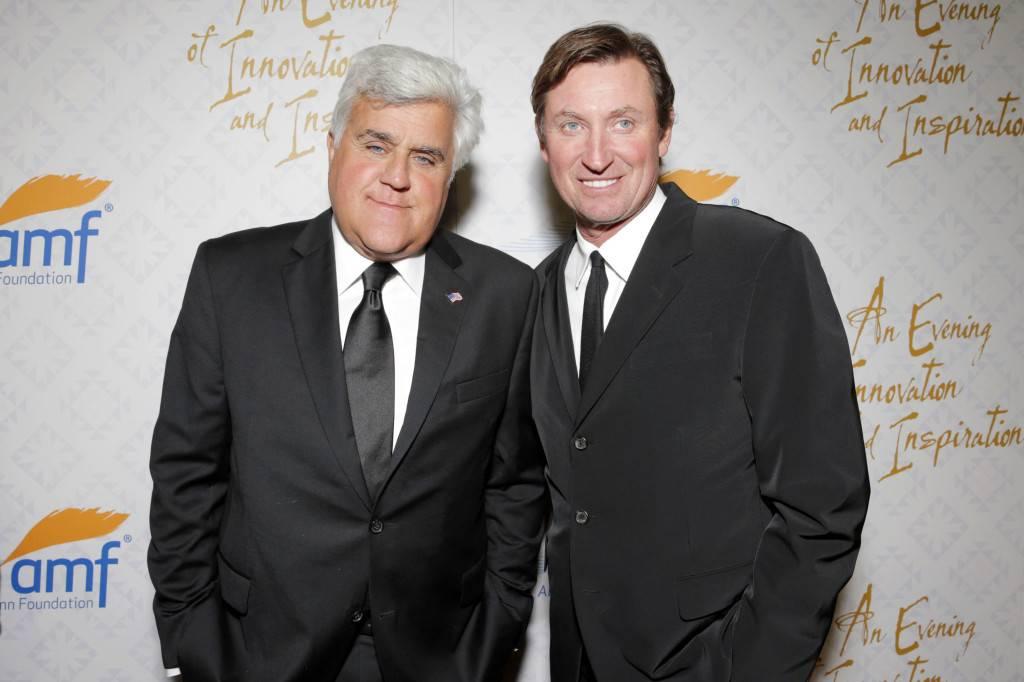Jay Leno, Wayne Gretzky