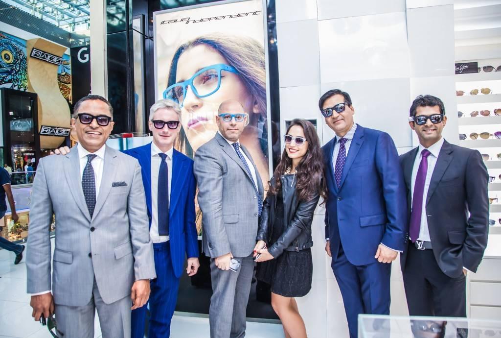 Uday Shrikantia - Rivoli Group, Andrea Tessitore - Italia Independent, Mosaad Dawood - Magrabi Optical, Bhuwan Bahuguna - Rivoli Group, Avinash Dudeja - Rivoli Group