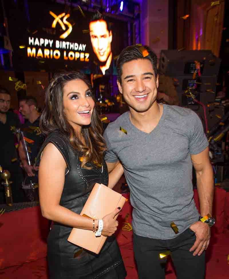 Mario Lopez 40th Birthday Weekend at Encore at Wynn in Las Vegas