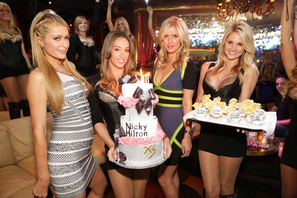 XS - Paris Nicky Hilton - cake- 10.5.13