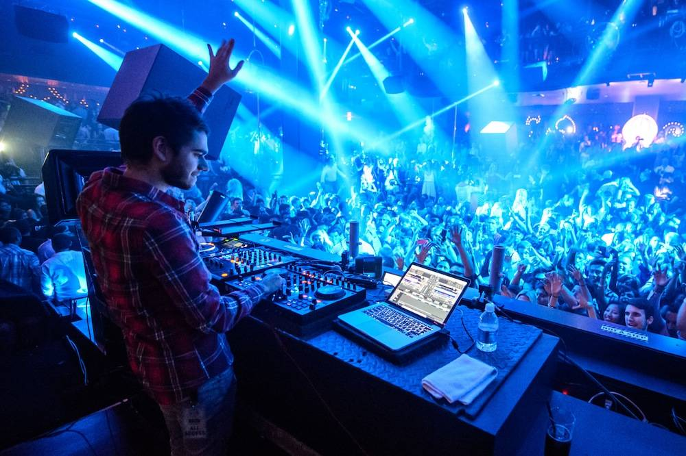 Zedd spins at Light Nightclub. Photos: Al Powers