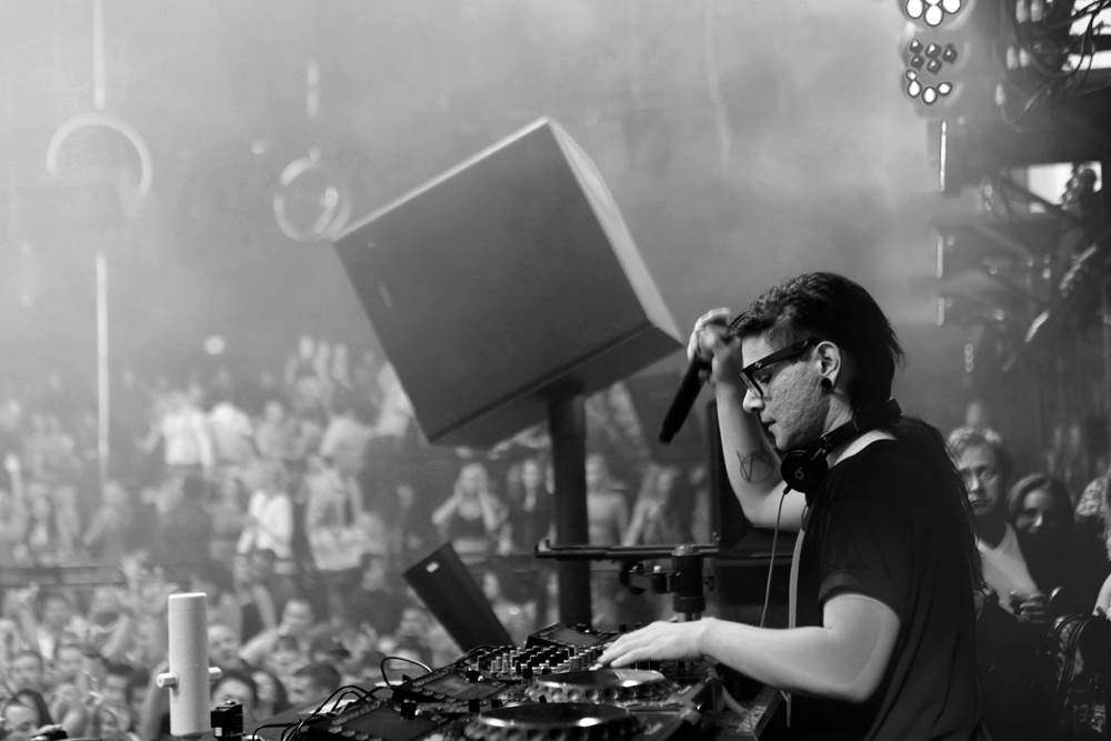 Skrillex at Light Nightclub. Photos: The Light Group