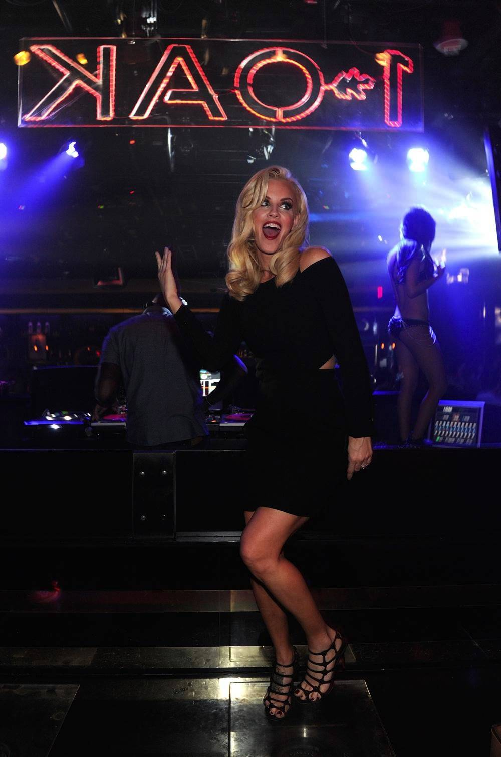 Jenny McCarthy at 1 OAK. Photos: David Becker/WireImage