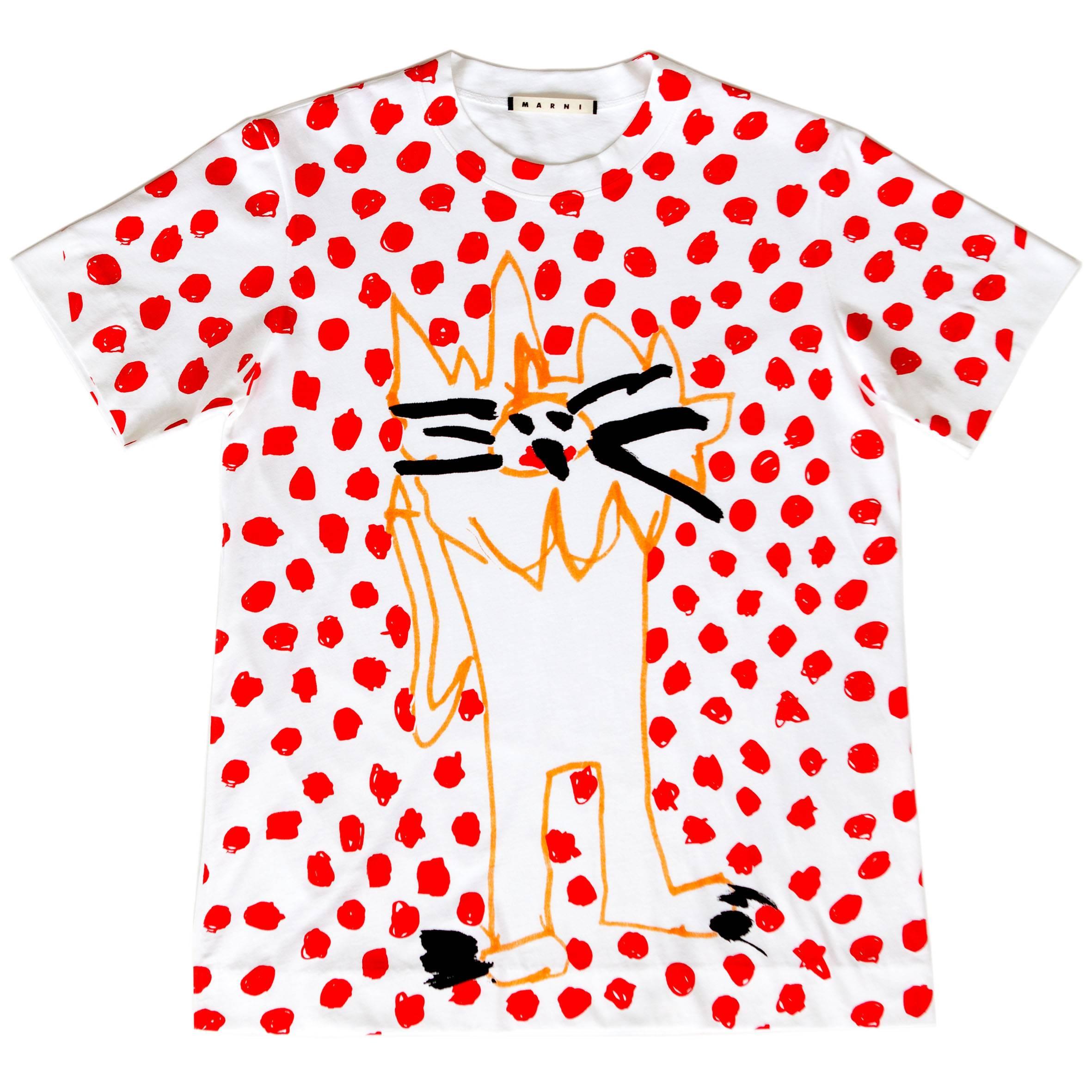 01  T-shirt MARNI CHARITY Project