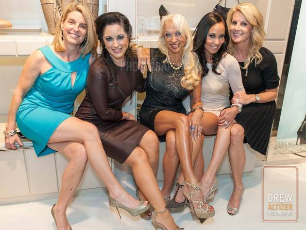 Bubbles and Bling Launch Party at Jimmy Choo of San Francisco   Credit: Drew Altizer Photography