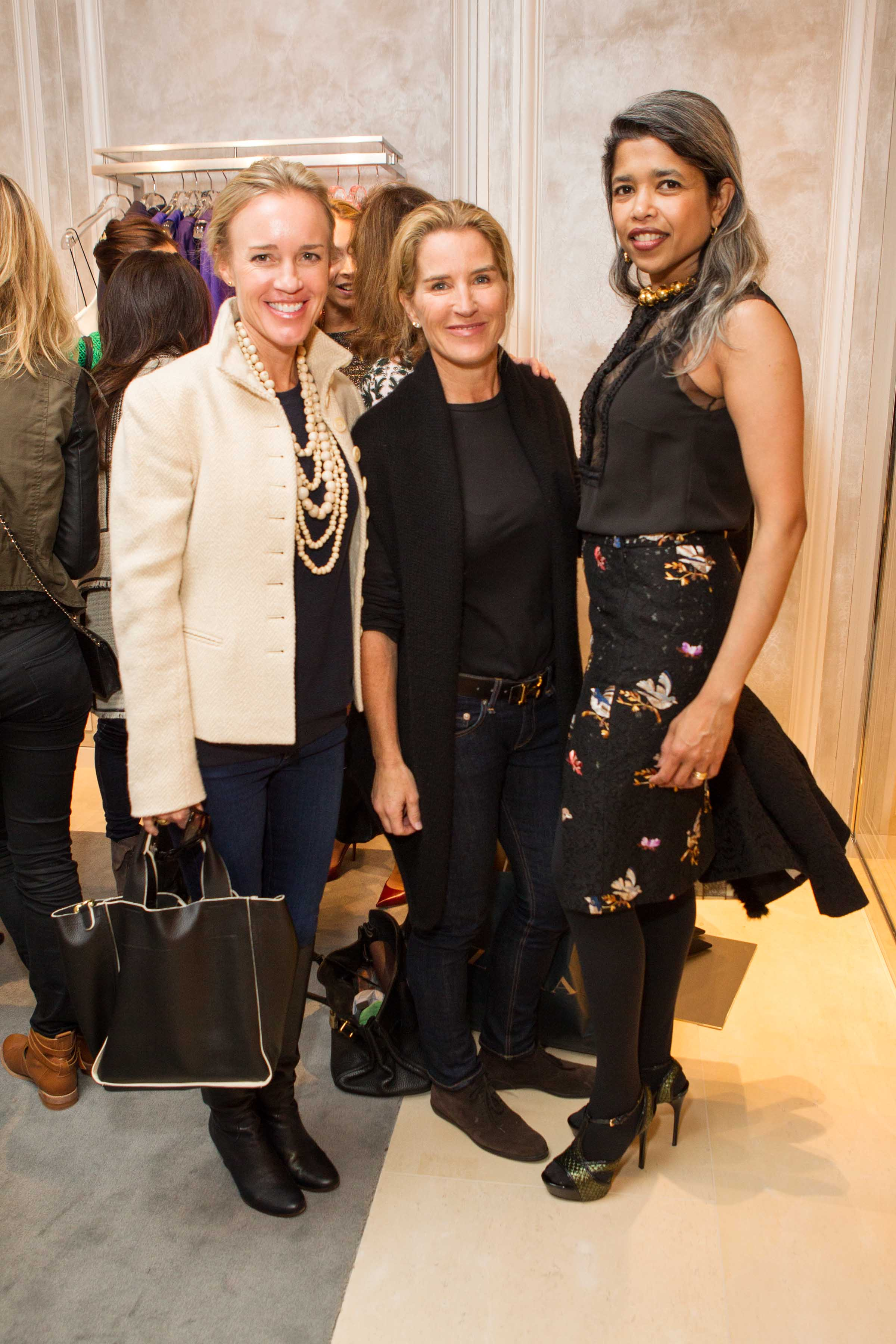 Heidi Castelein, Summer Tompkins Walker and Deepa Pakianathan