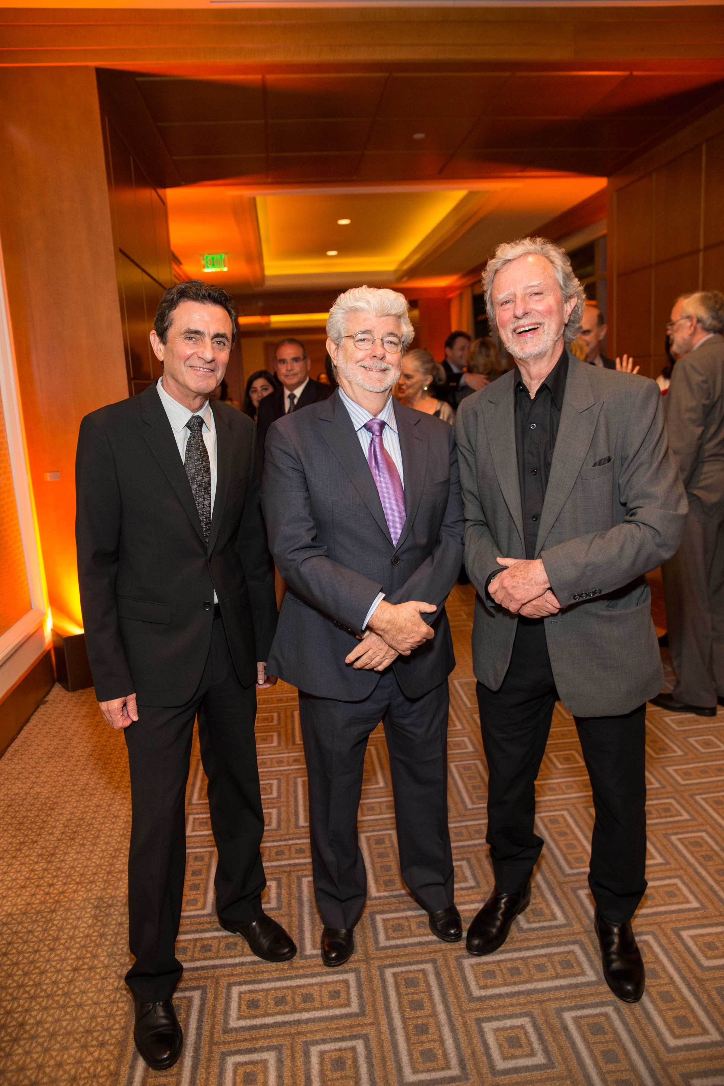 Neal Benezra, George Lucas, Philip Kaufman