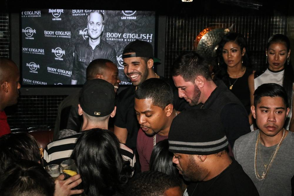 03a4cf3022e Haute Event  Drake Throws His After-Party at Body English