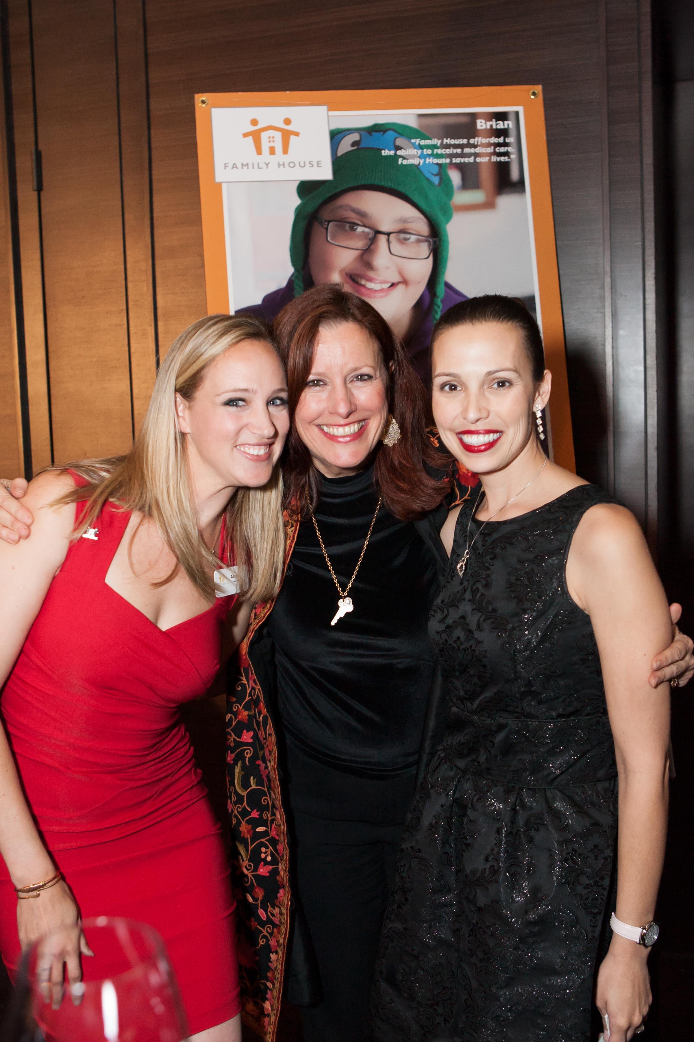 Amy Lenz, Alexandra Morgan, Heather Goin