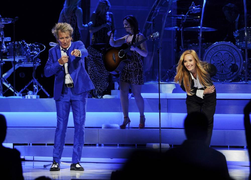 Rod Stewart Performs In His Residency Show