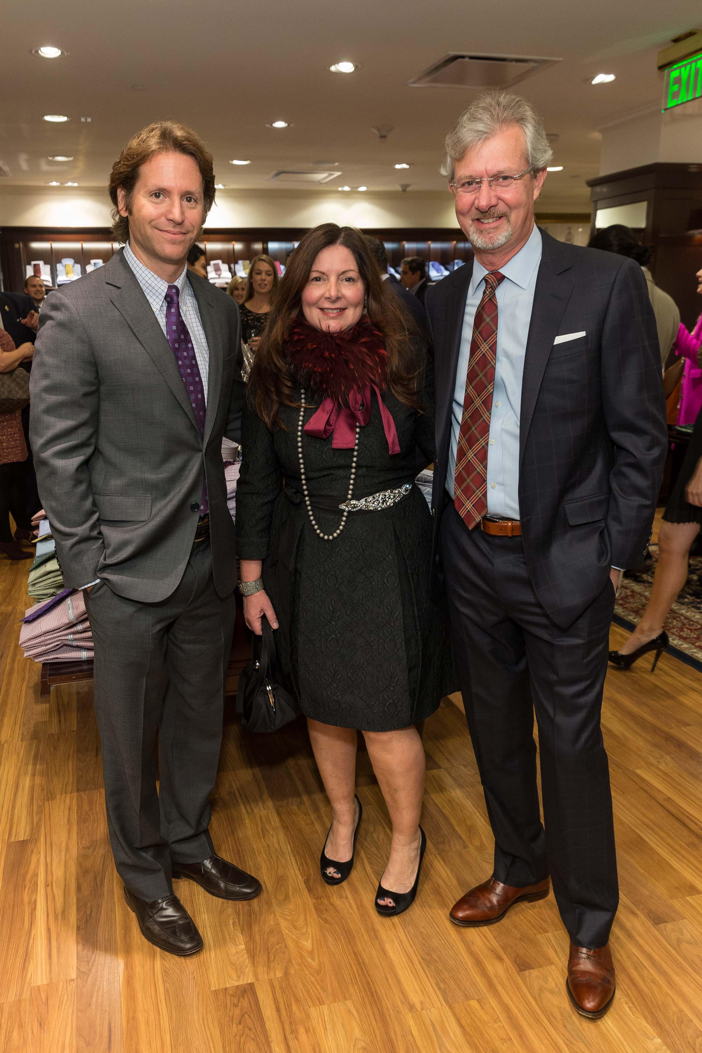 Brooks Brothers and Town & Country Host the Official Launch of Trevor Traina's Charitable Platform If Only