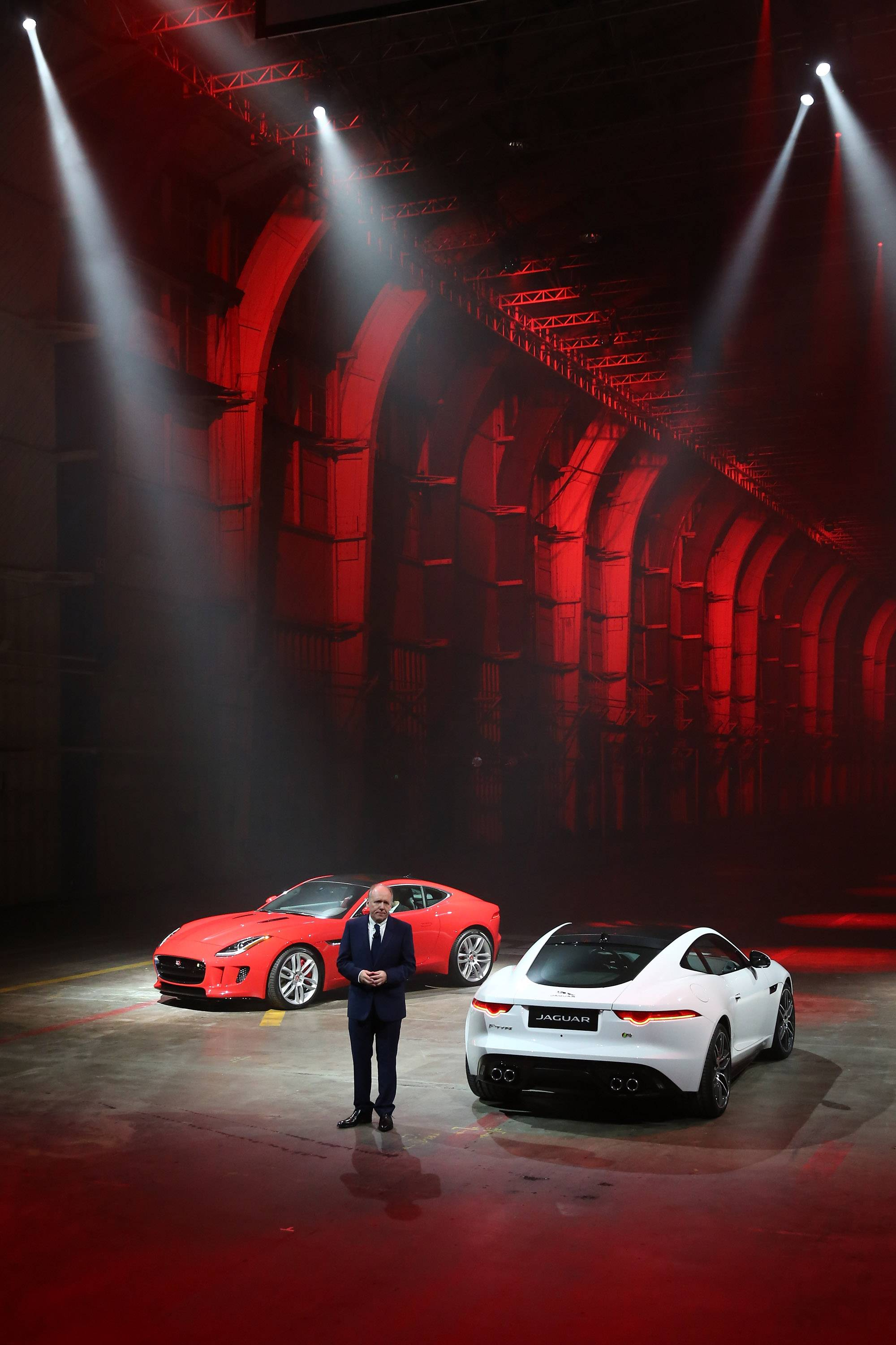 The All New Jaguar F-TYPE Coupe Makes High-Speed Debut At Exclusive VIP Event In LA