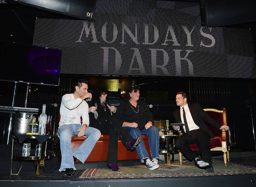 Mondays Dark With Mark Shunock Charity Event Featuring Dot-Marie Jones At Body English Nightclub