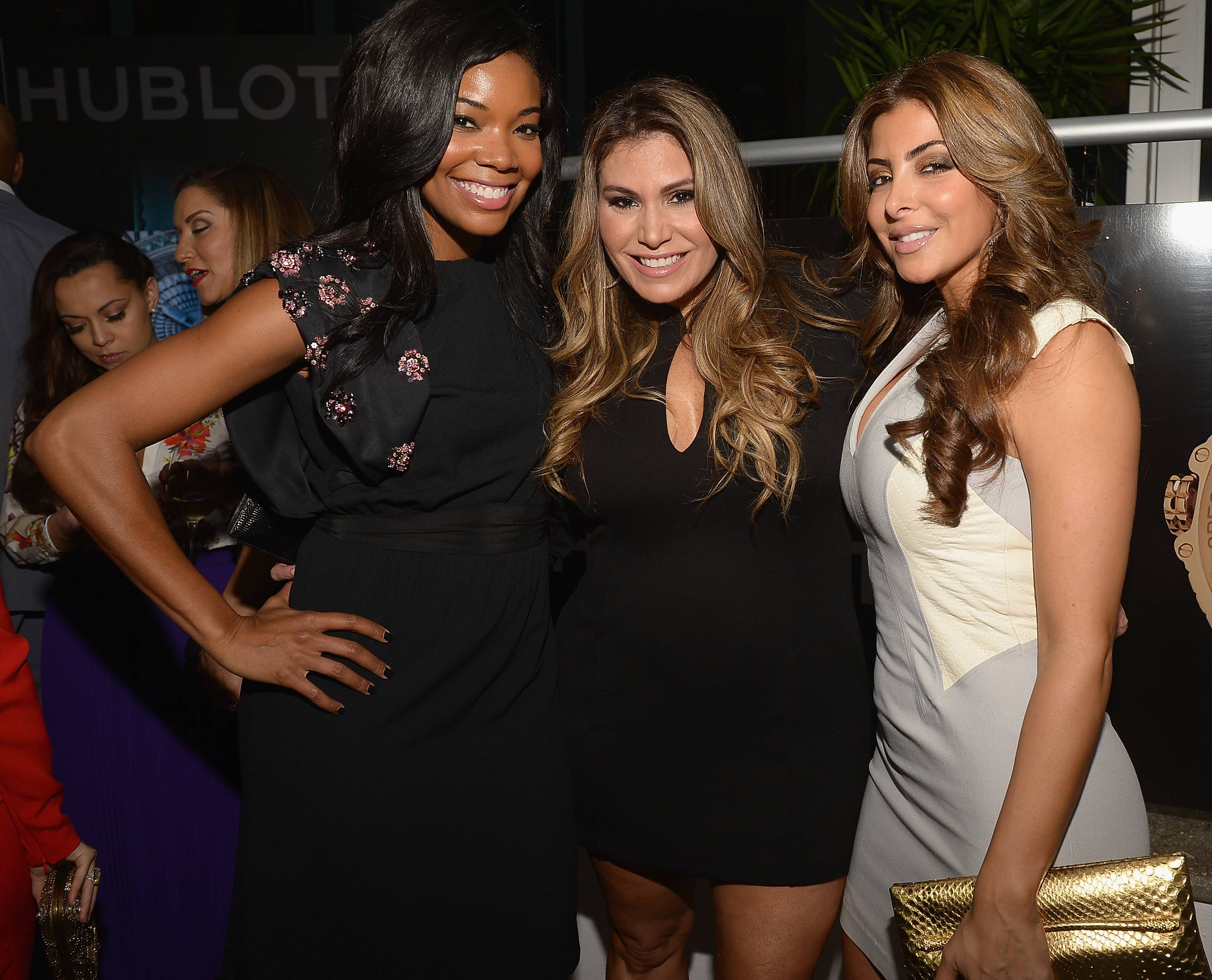 Gabrielle Union,Loren Ridinger and Larsa Pippen