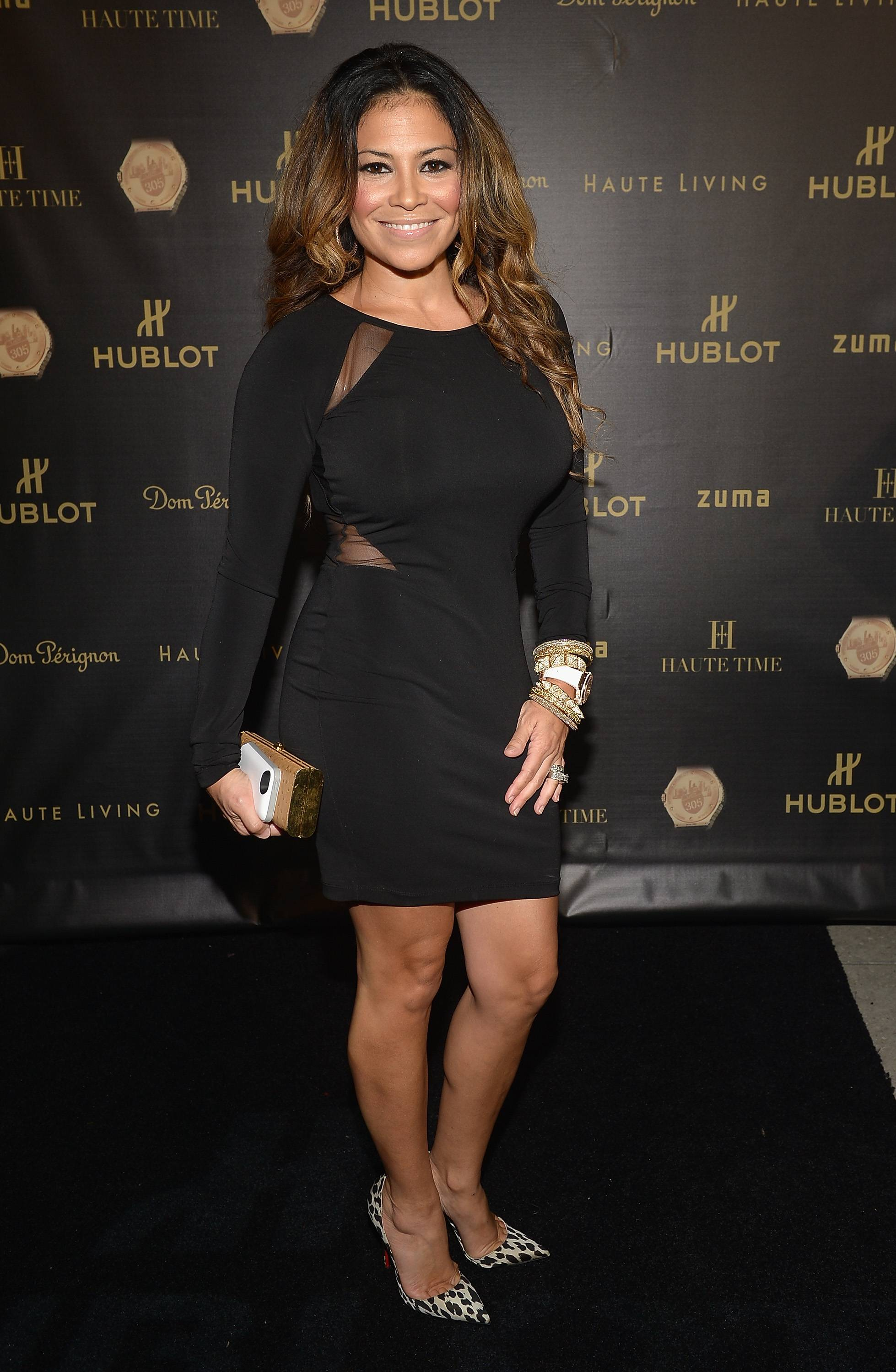 Shannon Allen attends the Haute Living