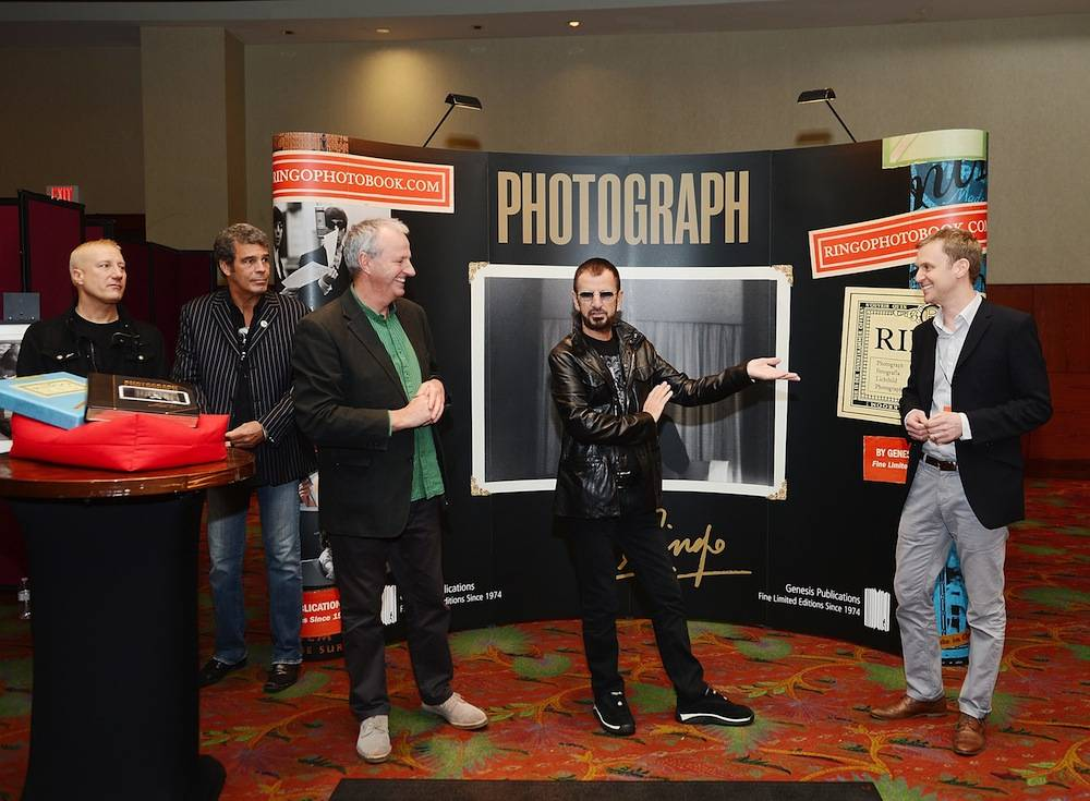 Ringo Starr Holds First Public Launch Of Book PHOTOGRAPH With Guests The