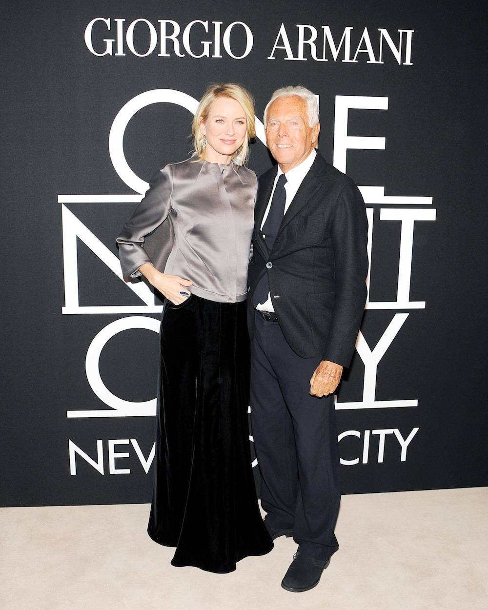 ARMANI  ONE NIGHT ONLY NYC