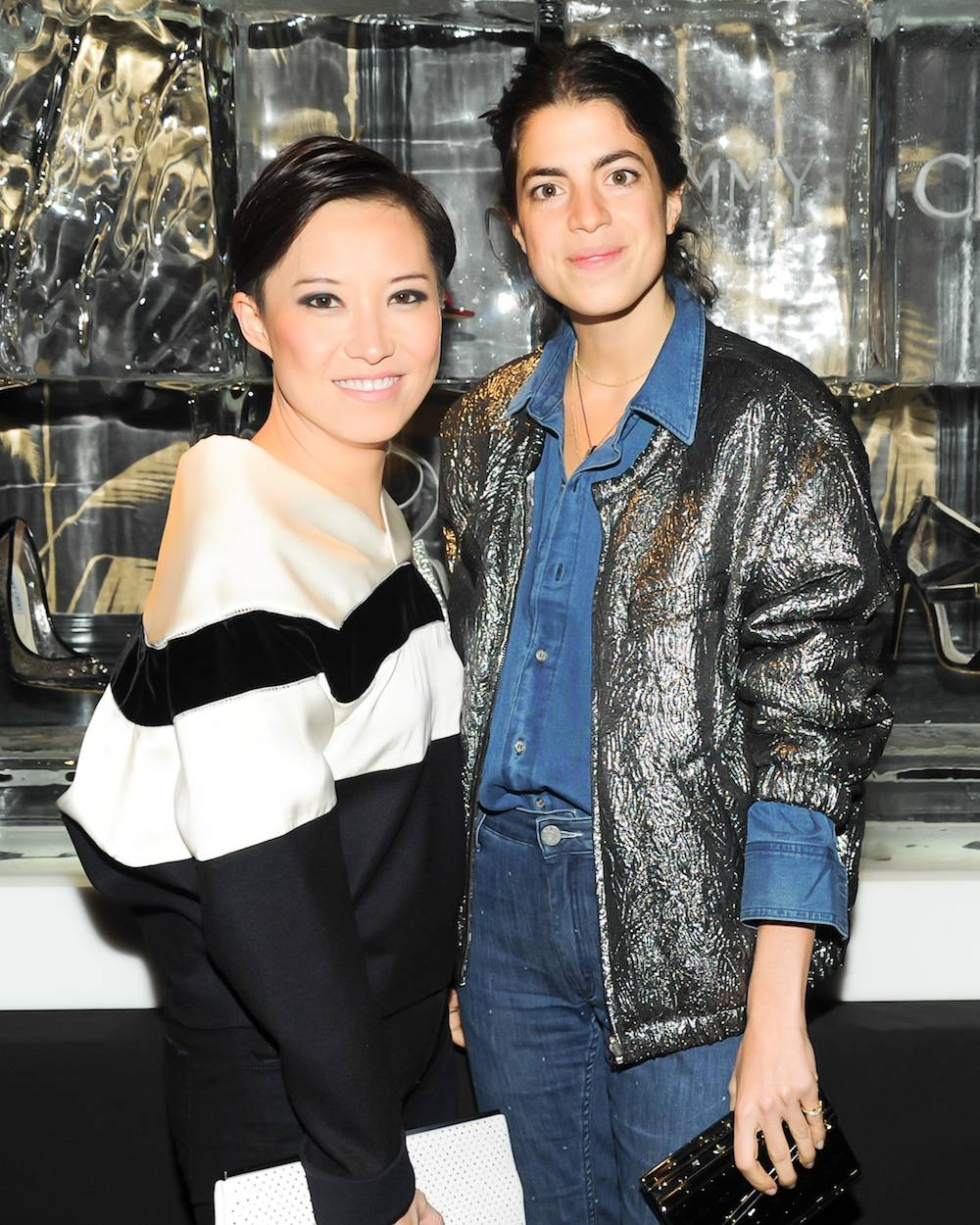 JIMMY CHOO and Sandra Choi celebrate the Cruise Collection at No. 8 New York