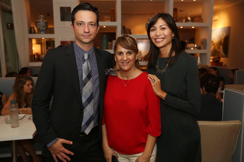 Ciro Campagnoli, Patricia Trias, & Gabby Mejia