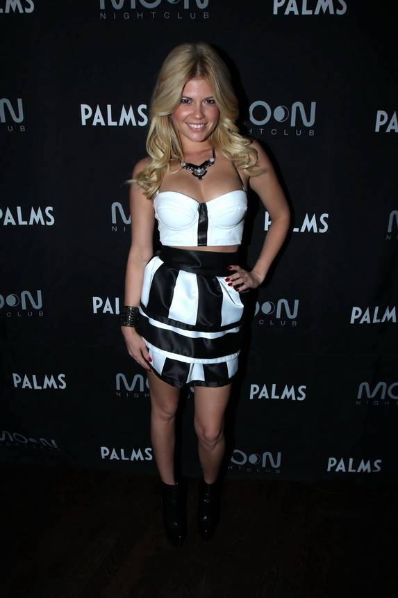 Chanel West Coast on Moon carpet