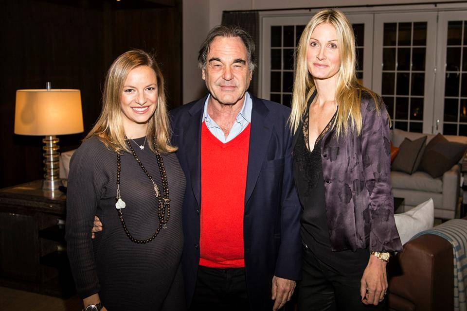 Coralie Charriol Paul, Oliver Stone, Christine Mack