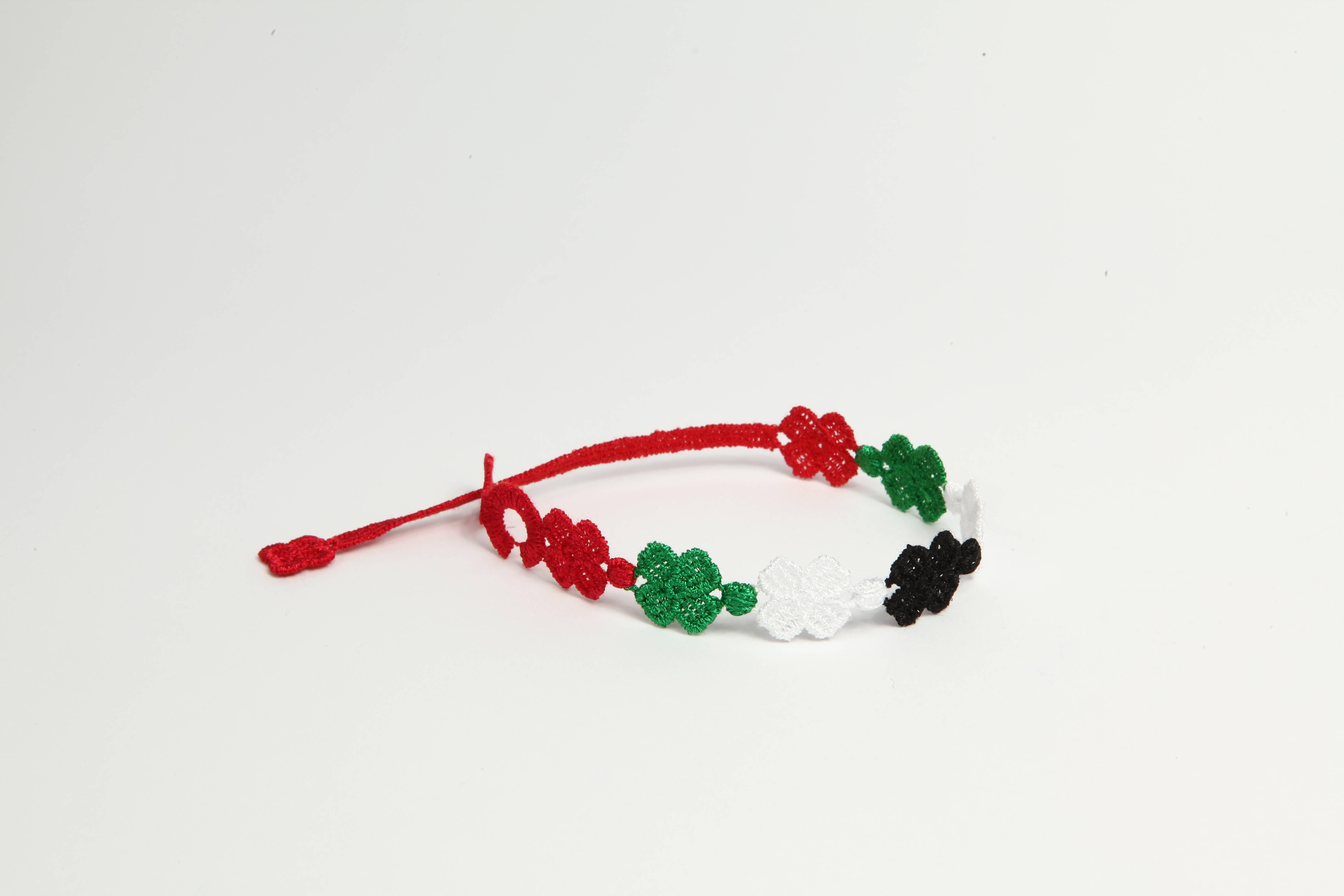 Cruciani C – UAE flag bracelet