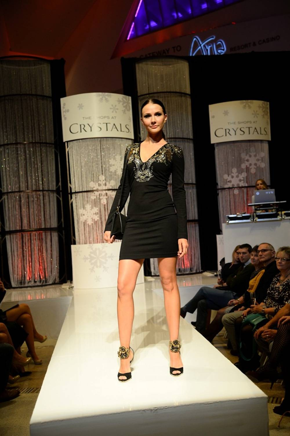 Crystals - Fashion Gives Back 2013 - Model on Catwalk RS